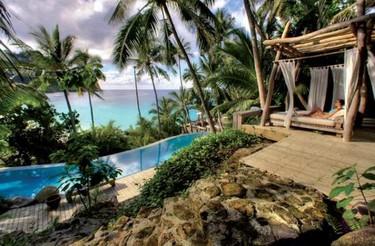 North Island en  Seychelles, menos es más
