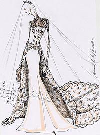 Manuel Mota diseña vestidos de noche para Pronovias