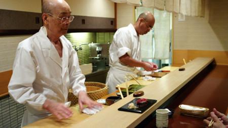Jiro trabajando