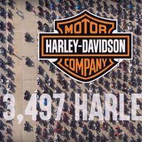 ¡Récord Guinness! 3.497 motos de Harley-Davidson se reunieron en Texas para ayudar a los veteranos de guerra