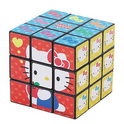El cubo de Hello Kitty