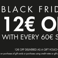 Black Friday SportsDirect: 12 euros de descuento en compras superiores a 60 euros