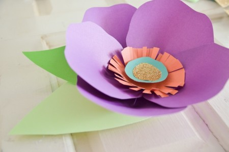 Dimensional Paper Flowers