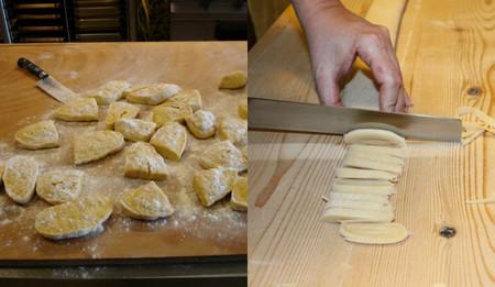 Estirar Y Cortar Pasta Fresca