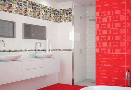 Cer micas y frisos 7 ideas para vestir tus paredes que te for Combinar colores de pisos y paredes