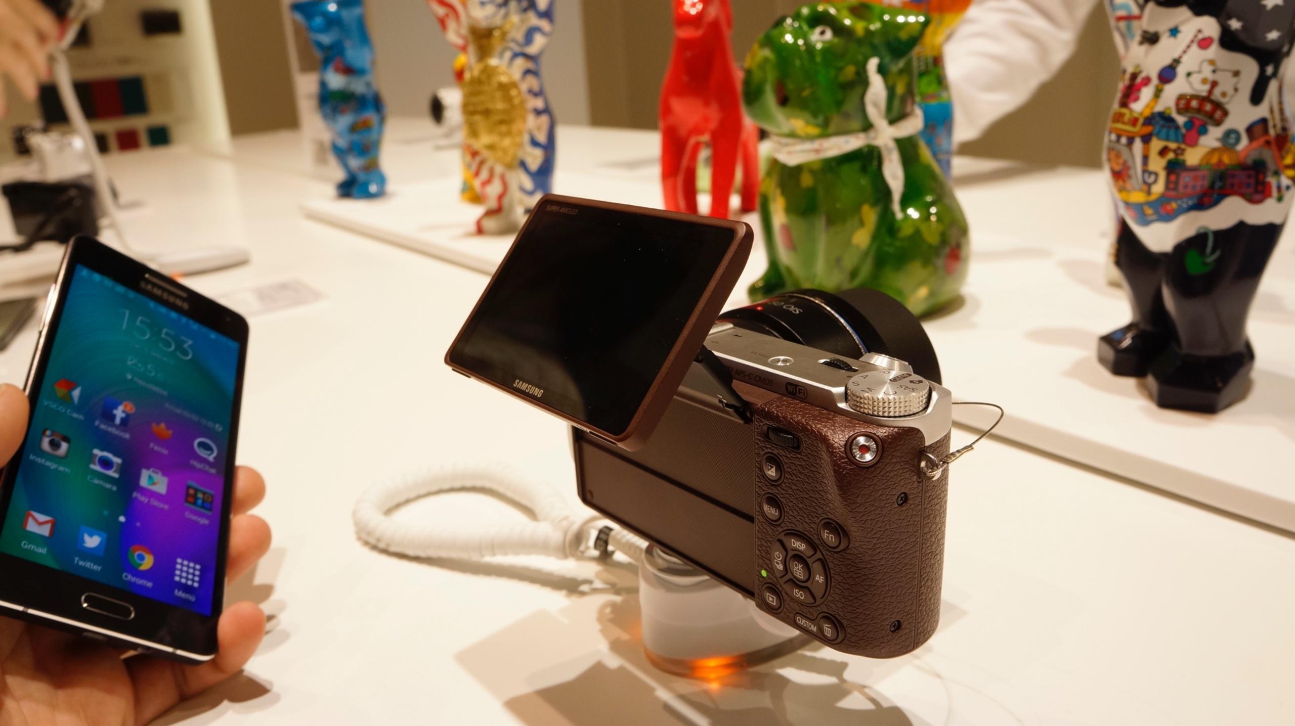 Samsung NX500 primeras impresiones