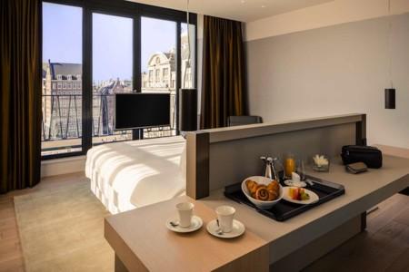 Por negocios o por placer... en Amsterdam el Gran hotel Krasnapolsky es una opción perfecta