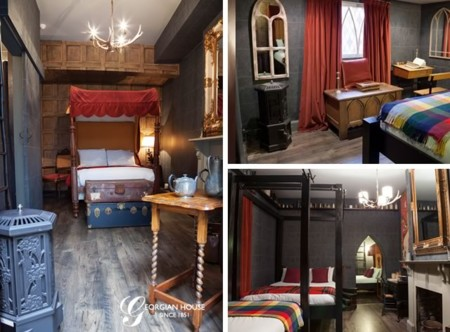 Abre en londres el hotel de harry potter - Camera da letto stile harry potter ...