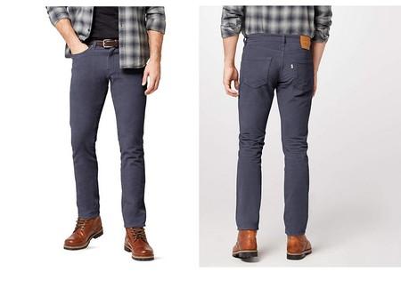Los pantalones Levi's 511 Slim Fit en azul están rebajados a 35,95 euros en Amazon con envío gratis incluido