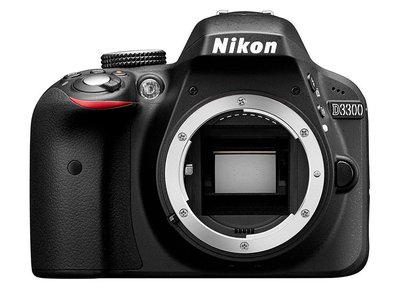Nikon D3300 sólo cuerpo, por sólo 230 euros en Amazon