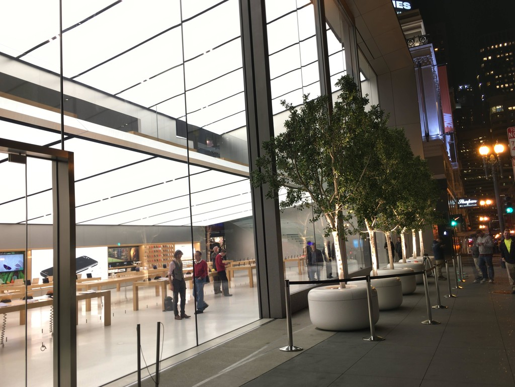 Preparativos Apple Store 2