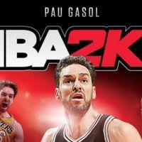 Pau Gasol protagonizará la portada de NBA 2K17 en España