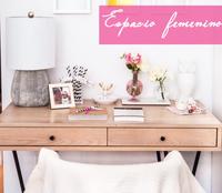 Cómo crear un espacio femenino de trabajo