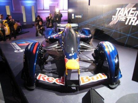 Red Bull X1 Prototype de cerca