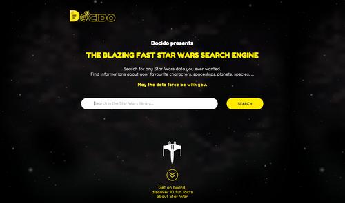 La última fricada sobre Star Wars: un buscador especializado