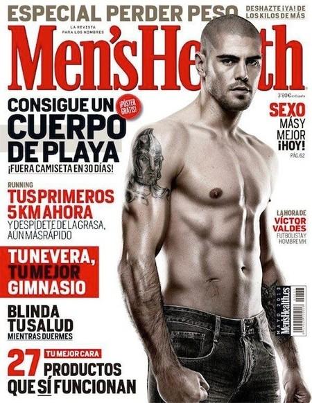 Victor Valdés celebra el triunfo del Barcelona luciendo abdominales para la Men's Health