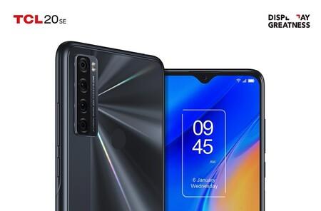 TCL 20 SE: gran diagonal de pantalla, gran batería y precio ajustado
