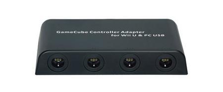Nuevo adaptador de GameCube para Wii U con soporte para cuatro mandos