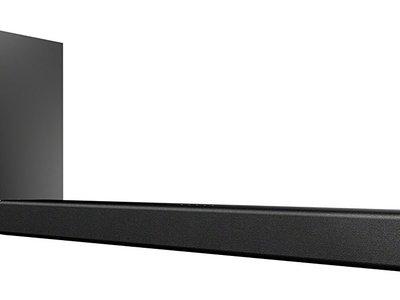 Conjunto de barra de sonido y subwoofer Sony HT-CT180, con 100W de potencia, por 123 euros
