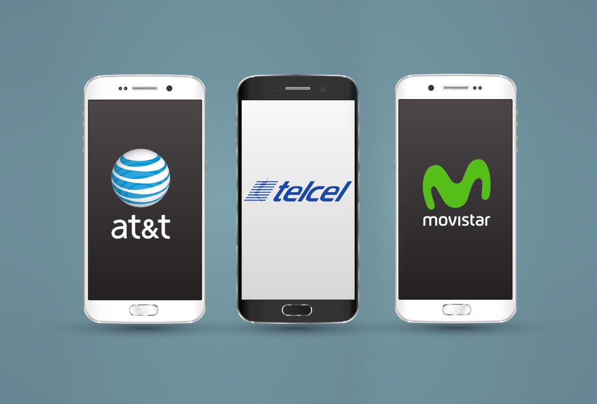 44ae54f26ff Así quedan los planes de renta en México de AT&T, Telcel y Movistar para  este 2017