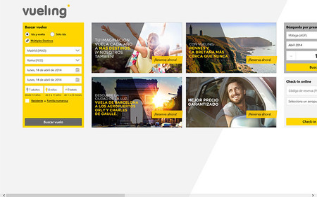 Vueling y Microsoft presentan la app para Windows Phone y Windows 8