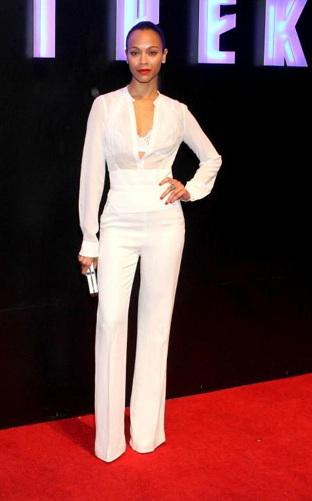 Elie Saab Zoe Saldana look moda