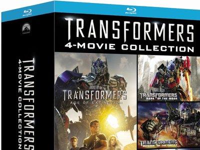 Pack Transformers, en Blu-ray, por 20 euros en Zavvi