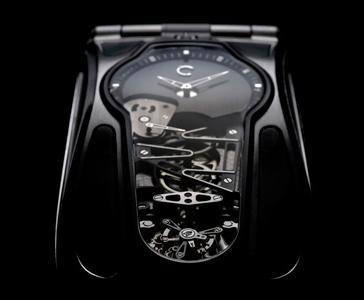Celsius Papillon Tourbillon, el móvil mitad mecánico, mitad eléctrico