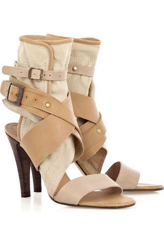 Mis prendas de primavera: Sandalias-botines de Chloé