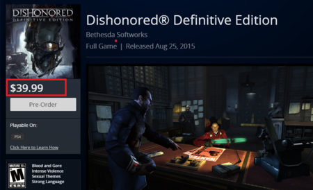 Dishonored Definitive Edition 40