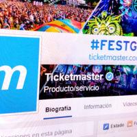 Ticketmaster anuncia su alianza con Facebook para vender entradas a través de la red social