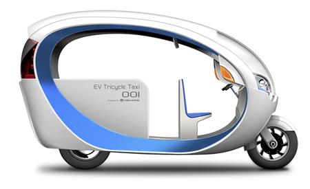 Terra Motors presenta un tuk-tuk eléctrico para siete ocupantes