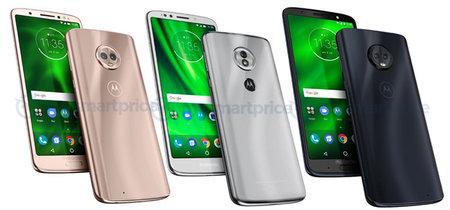 Moto G6, G6 Plus y G6 Play: la gama media de Motorola destripada al completo en una nueva filtración