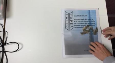 Paperlater imprime tu propio periódico con tus lecturas pendientes