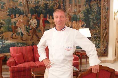 El chef Éric Frechon Le Bristol