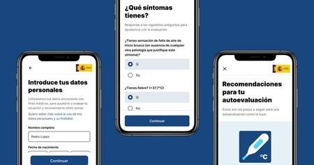 Aplicación móvil de AsistenciaCOVID-19
