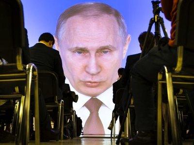 Vladimir Putin muestra las nuevas armas nucleares de Rusia con un vídeo donde el blanco es Florida, EEUU