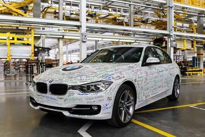 BMW fabrica su primer auto en Brasil