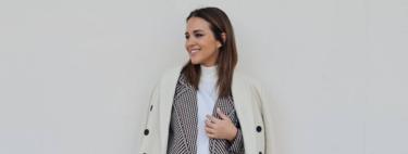 Paula Echevarría luce el traje de punto de Mango que va a arrasar en Instagram