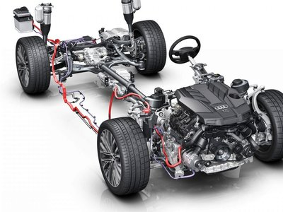 """No es broma, el Audi A8 de séptima generación rodará hasta a 160 km/h """"sin motor"""" para ahorrar combustible"""