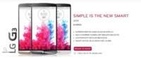 LG desvela el G3 en su web holandesa, pocas sorpresas para su presentación oficial