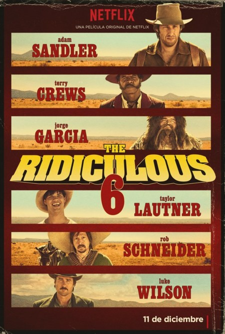 Poster de The Ridiculous 6