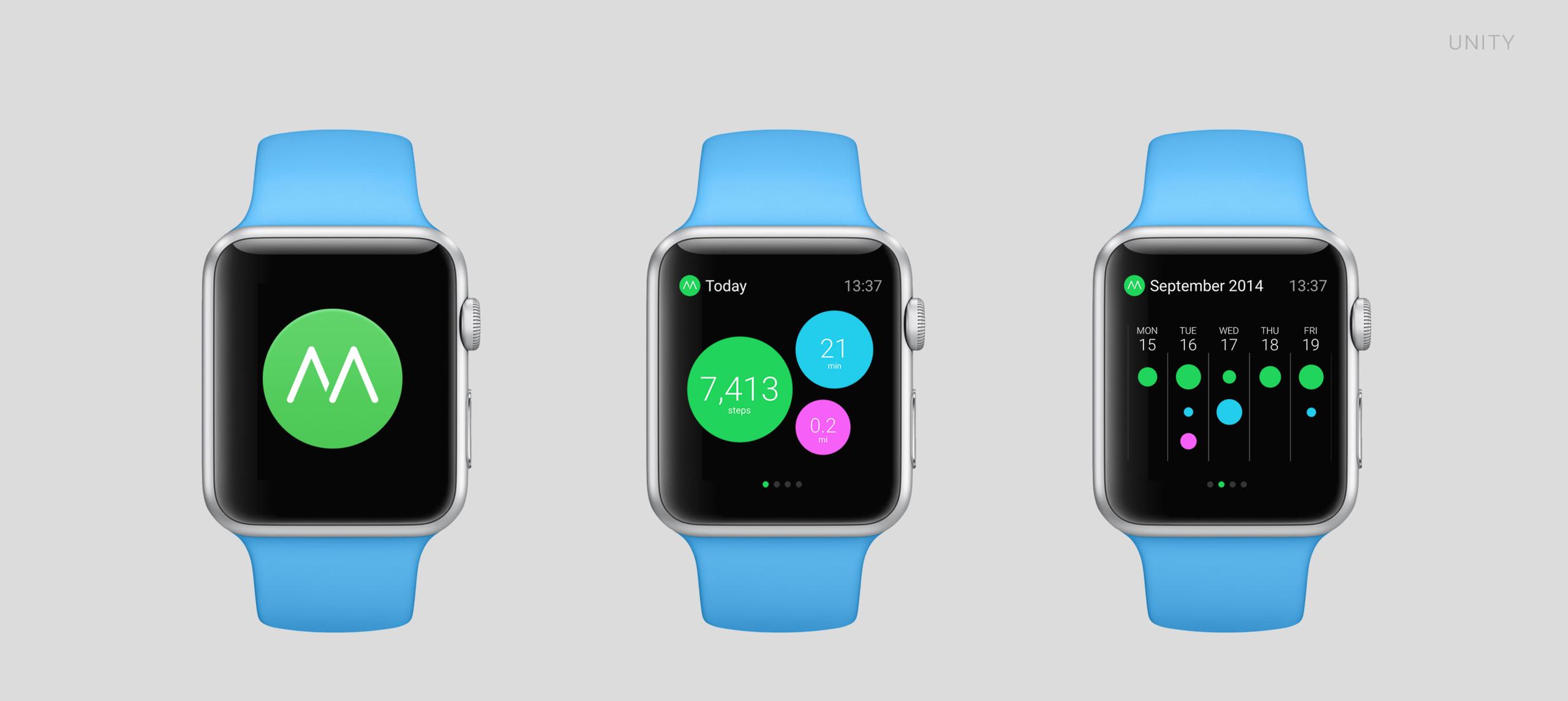 Así pueden ser algunas aplicaciones en el Apple Watch