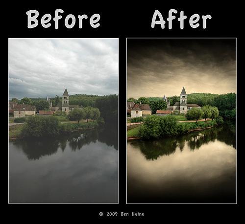 Foto de ¿Cómo Photoshop puede convertir una foto mediocre en una gran fotografía? (7/12)