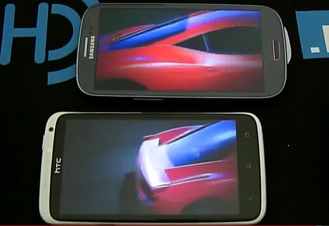 Samsung Galaxy SIII vs. HTC One X