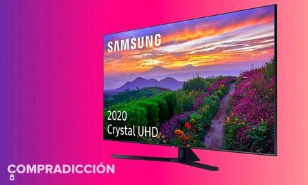 Tan grande como su rebaja: la Smart TV Samsung 65TU8505 de 65 pulgadas cuesta 210 euros menos en la Semana Web de MediaMarkt