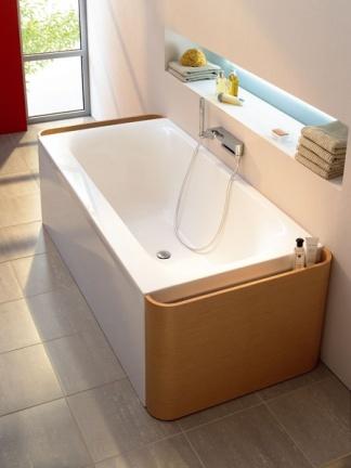 Moments: una bañera con luz y cajones