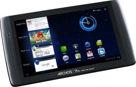 Archos 70b Internet Tablet: Honeycomb a precio competitivo