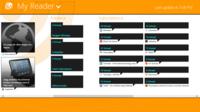 MyReader, cliente de Google Reader para Windows 8