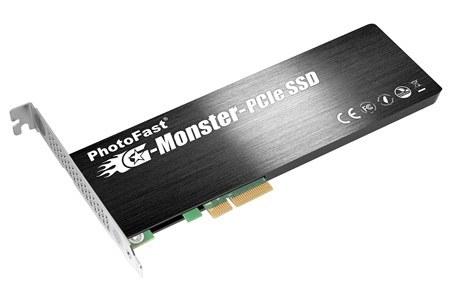PhotoFast G-Monster, un disco SSD con interfaz PCI-Express